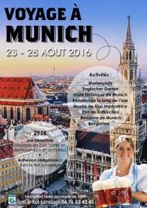 Affiche Munich 2016