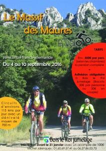 Affiche tour à vélo 2016 2