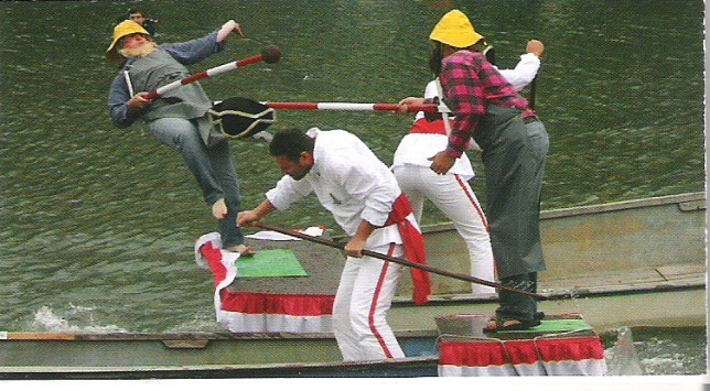 Fischerstechen / Joutes nautiques